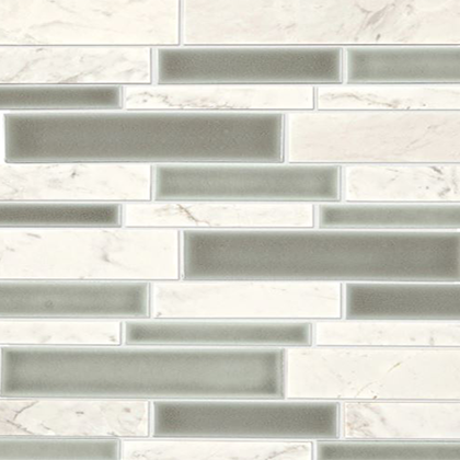Stratus White Blend Mosaic DA34