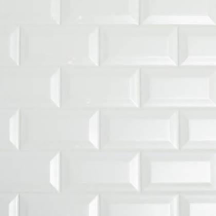 Color Wheel Classic Bevel White